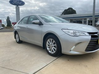 2017 Toyota Camry Altise Silver Sports Automatic Sedan