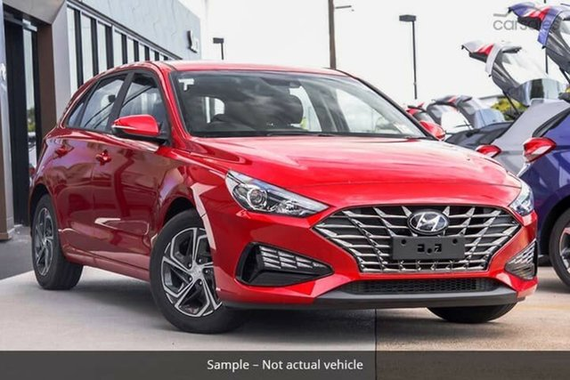Demo Hyundai i30 PD.V4 MY21 Reynella, 2020 Hyundai i30 PD.V4 MY21 Fiery Red 6 Speed Sports Automatic Hatchback
