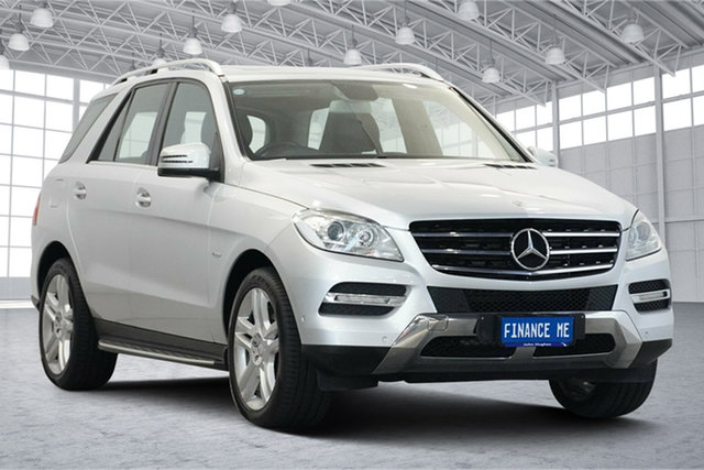 Used Mercedes-Benz M-Class W166 ML250 BlueTEC 7G-Tronic + Victoria Park, 2012 Mercedes-Benz M-Class W166 ML250 BlueTEC 7G-Tronic + Silver 7 Speed Sports Automatic Wagon