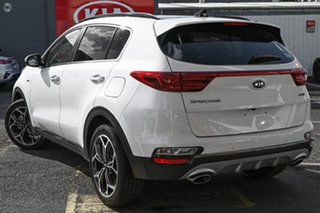 2020 Kia Sportage QL MY21 GT-Line AWD White 8 Speed Sports Automatic Wagon