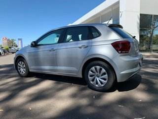 2020 Volkswagen Polo AW MY21 70TSI DSG Trendline Reflex Silver 7 Speed Sports Automatic Dual Clutch.