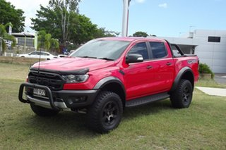 2018 Ford Ranger PX MkIII 2019.00MY Raptor Red 10 Speed Sports Automatic Utility