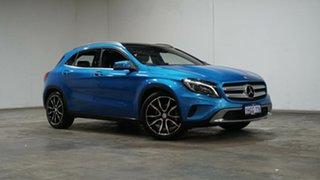 2016 Mercedes-Benz GLA-Class X156 806MY GLA250 DCT 4MATIC Blue 7 Speed Sports Automatic Dual Clutch.