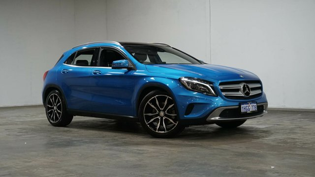 Used Mercedes-Benz GLA-Class X156 806MY GLA250 DCT 4MATIC Welshpool, 2016 Mercedes-Benz GLA-Class X156 806MY GLA250 DCT 4MATIC Blue 7 Speed Sports Automatic Dual Clutch