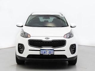 2018 Kia Sportage QL MY18 SI Premium (FWD) White 6 Speed Automatic Wagon.