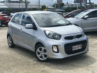 2016 Kia Picanto TA MY17 SI Silver 4 Speed Automatic Hatchback.