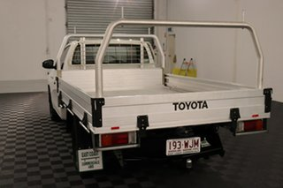 2015 Toyota Hilux GUN122R Workmate 4x2 White 5 speed Manual Cab Chassis