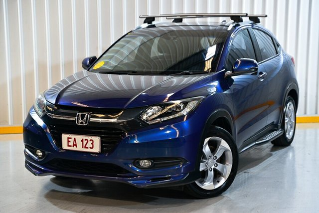 Used Honda HR-V MY15 VTi-S Hendra, 2015 Honda HR-V MY15 VTi-S Blue 1 Speed Constant Variable Hatchback
