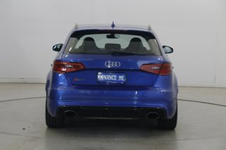 2016 Audi RS 3 8V MY16 Sportback S Tronic Quattro Blue 7 Speed Sports Automatic Dual Clutch