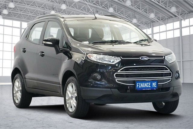 Used Ford Ecosport BK Trend Victoria Park, 2016 Ford Ecosport BK Trend Panther Black 5 Speed Manual Wagon