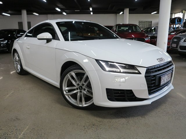 Used Audi TT FV MY15 S Line S Tronic Albion, 2015 Audi TT FV MY15 S Line S Tronic White 6 Speed Sports Automatic Dual Clutch Coupe