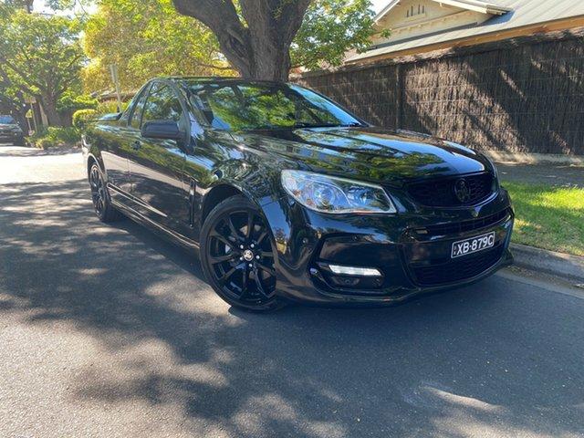 Used Holden Ute VF II MY16 SS V Ute Hawthorn, 2016 Holden Ute VF II MY16 SS V Ute Black 6 Speed Sports Automatic Utility