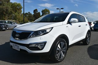 2014 Kia Sportage SL Series II MY13 Platinum White 6 Speed Sports Automatic Wagon.
