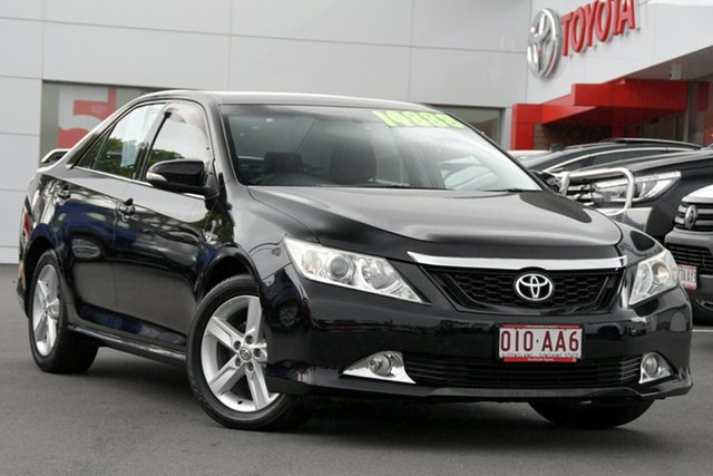 Pre-Owned Toyota Aurion GSV50R Touring Woolloongabba, 2012 Toyota Aurion GSV50R Touring Eclipse Black 6 Speed Sports Automatic Sedan