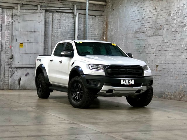 Used Ford Ranger PX MkIII 2019.00MY Raptor Mile End South, 2018 Ford Ranger PX MkIII 2019.00MY Raptor White 10 Speed Sports Automatic Utility