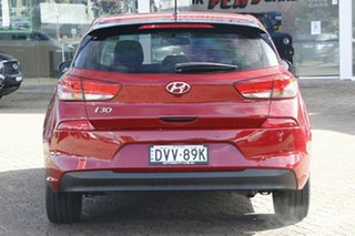 2017 Hyundai i30 PD MY18 Go Red 6 Speed Sports Automatic Hatchback