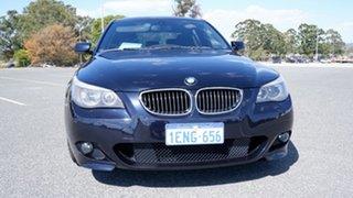2007 BMW 5 Series E60 MY07 525i Steptronic Blue 6 Speed Sports Automatic Sedan
