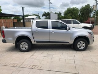 2016 Holden Colorado RG MY17 LS Pickup Crew Cab Silver 6 Speed Manual Utility