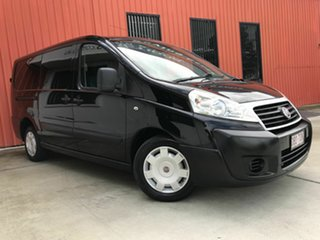 2014 Fiat Scudo Low Roof LWB Black 6 Speed Manual Van.