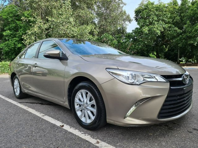 Used Toyota Camry ASV50R Altise Stuart Park, 2016 Toyota Camry ASV50R Altise Brown 6 Speed Sports Automatic Sedan
