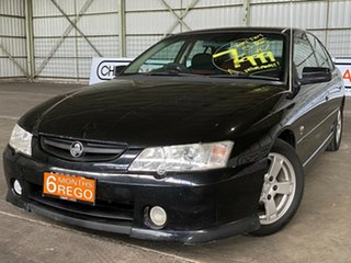 2002 Holden Commodore VY S Black 4 Speed Automatic Sedan.