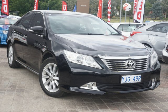 Used Toyota Aurion GSV50R Prodigy Phillip, 2013 Toyota Aurion GSV50R Prodigy Black 6 Speed Sports Automatic Sedan