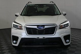 2018 Subaru Forester S5 MY19 2.5i CVT AWD White Pearl 7 Speed Constant Variable Wagon