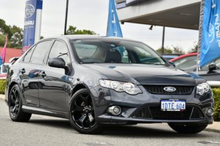 2011 Ford Falcon FG XR6 Limited Edition Grey 6 Speed Sports Automatic Sedan.