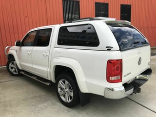 2012 Volkswagen Amarok 2H MY12.5 TDI420 4Motion Perm Ultimate White 8 Speed Automatic Utility.