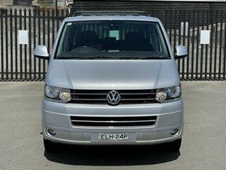 2010 Volkswagen Multivan T5 MY10 Comfortline DSG Silver 7 Speed Sports Automatic Dual Clutch Wagon.