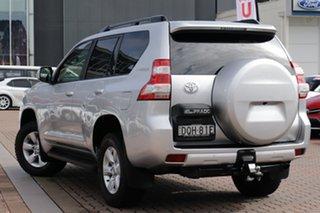 2017 Toyota Landcruiser Prado GDJ150R GXL Silver Metallic 6 Speed Sports Automatic SUV.