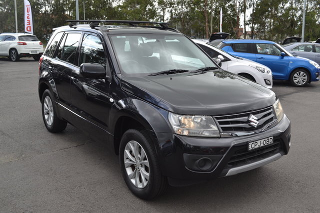 Used Suzuki Grand Vitara JB MY13 Sport Maitland, 2013 Suzuki Grand Vitara JB MY13 Sport Black 4 Speed Automatic Wagon