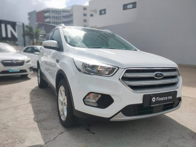 Used Ford Escape Trend Goulburn, 2019 Ford Escape Trend Frozen White Sports Automatic SUV
