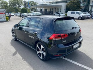 2014 Volkswagen Golf VII MY14 GTI DSG Black 6 Speed Sports Automatic Dual Clutch Hatchback