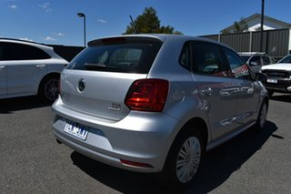 2014 Volkswagen Polo 6R MY15 66TSI Trendline Billet Silver 5 Speed Manual Hatchback