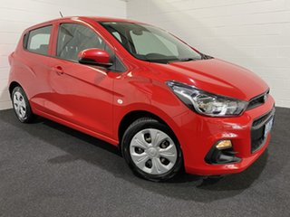 2016 Holden Spark MP MY16 LS Absolute Red 1 Speed Constant Variable Hatchback.
