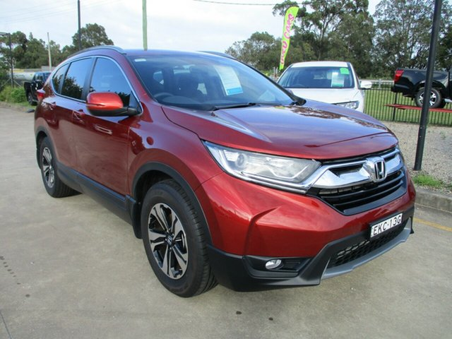 Used Honda CR-V RW MY20 VTi FWD Glendale, 2020 Honda CR-V RW MY20 VTi FWD Red 1 Speed Constant Variable Wagon