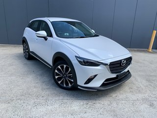 2020 Mazda CX-3 DK2W76 sTouring SKYACTIV-MT FWD Snowflake White 6 Speed Manual Wagon.