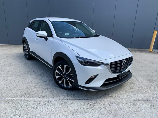 New Mazda CX-3 DK2W76 sTouring SKYACTIV-MT FWD Alexandria, 2020 Mazda CX-3 DK2W76 sTouring SKYACTIV-MT FWD Snowflake White 6 Speed Manual Wagon