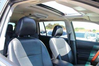 2010 Toyota Kluger GSU40R MY11 Grande 2WD Black 5 Speed Sports Automatic Wagon.