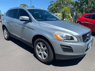 2010 Volvo XC60 DZ MY11 Geartronic AWD Silver 6 Speed Sports Automatic Wagon