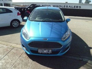 2013 Ford Fiesta WZ Trend PwrShift Blue 6 Speed Sports Automatic Dual Clutch Hatchback.
