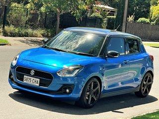 2018 Suzuki Swift AZ GLX Turbo Blue 6 Speed Sports Automatic Hatchback.