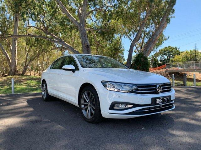 Demo Volkswagen Passat 3C (B8) MY20 140TSI DSG Business Epsom, 2020 Volkswagen Passat 3C (B8) MY20 140TSI DSG Business Pure White 7 Speed