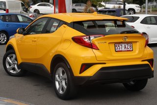 2019 Toyota C-HR NGX10R S-CVT 2WD Yellow 7 Speed Constant Variable Wagon.