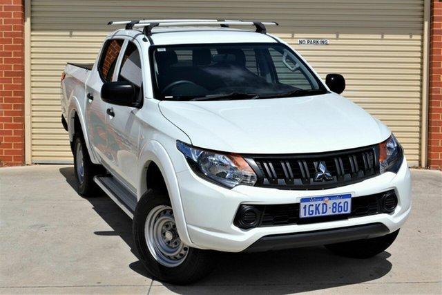 Used Mitsubishi Triton MQ MY17 GLX Double Cab Mount Lawley, 2017 Mitsubishi Triton MQ MY17 GLX Double Cab White 5 Speed Sports Automatic Utility