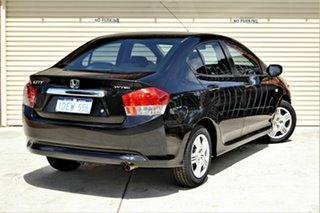 2009 Honda City GM MY09 VTi Black 5 Speed Automatic Sedan