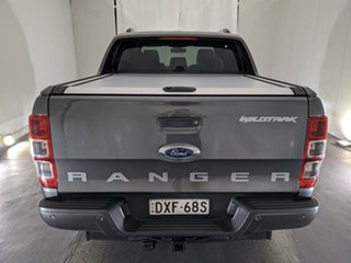 2018 Ford Ranger PX MkII 2018.00MY Wildtrak Double Cab Grey 6 Speed Manual Utility