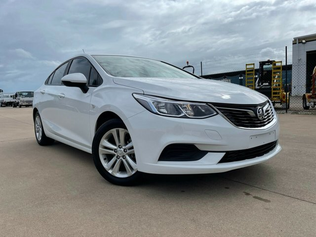 Used Holden Astra BL MY17 LS Townsville, 2017 Holden Astra BL MY17 LS White 6 Speed Sports Automatic Sedan