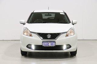 2019 Suzuki Baleno GL White 4 Speed Automatic Hatchback.